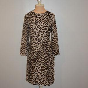Rag & Bone Silk Leopard Print Dress, Size 6